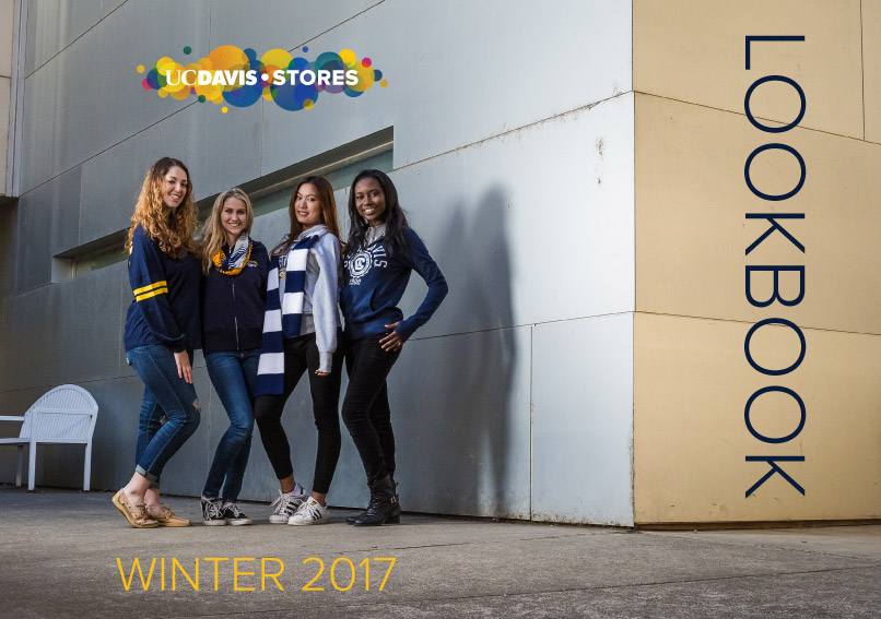 UC Davis Stores winter 2017 Lookbook