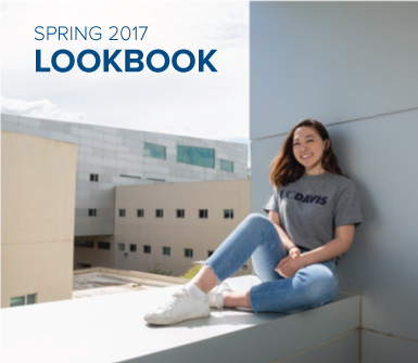 Take a look at the UC Davis Stores spring 2017 Lookbook