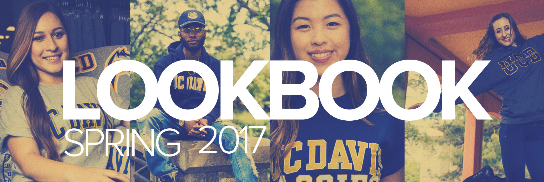 Take a peek at our spring 2017 Lookbook!