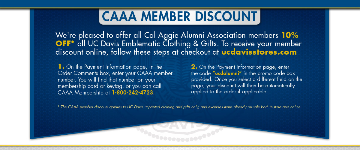 Alumni Discount Information