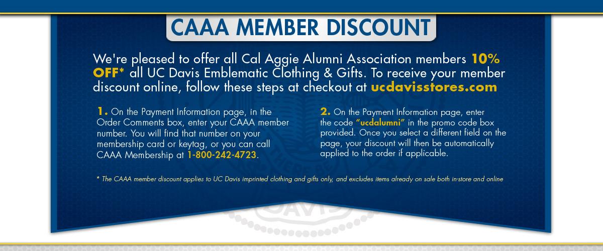 Alumni Discount Information