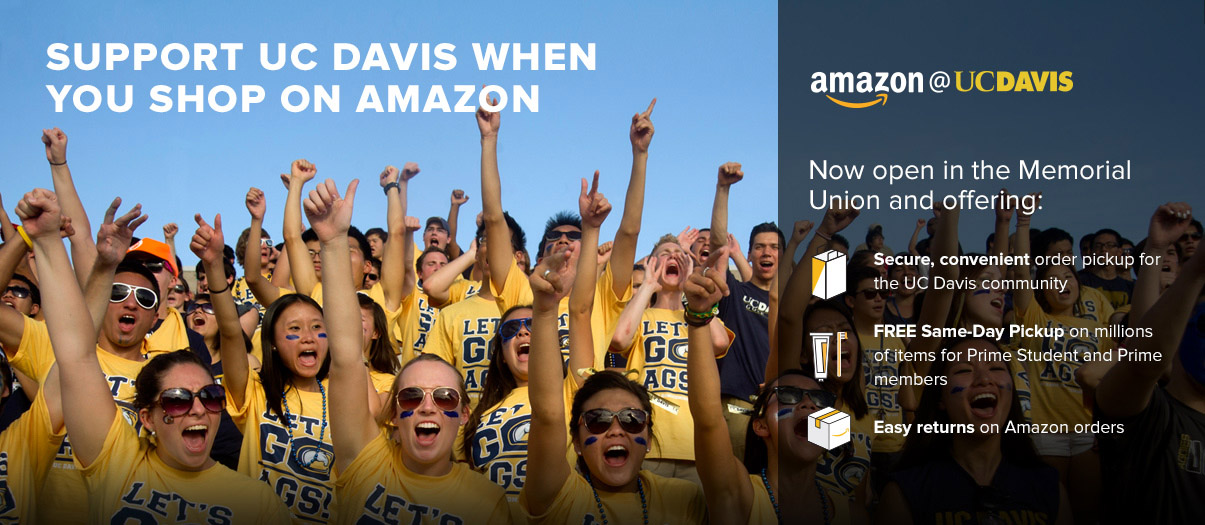 Can't find what you are looking for? Shop ucdavis.amazon.com!