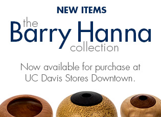 Barry Hanna items available in the Downtown Store