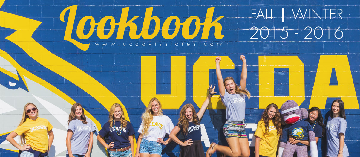 Take a look at what is new in the UC Davis Stores Fall/Winter Lookbook