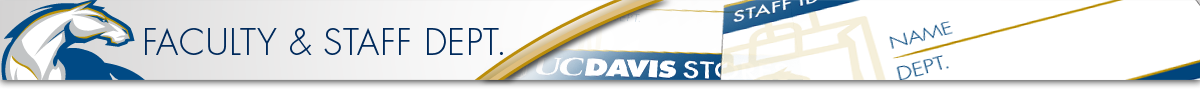 UC Davis Stores' Page for Staff and Faculty