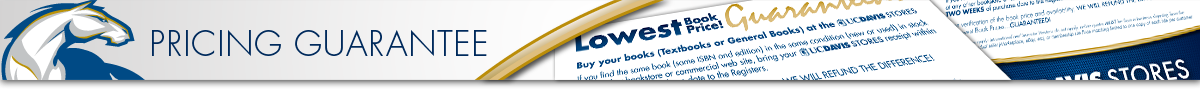 UC Davis Stores TextBook Price Guarantee
