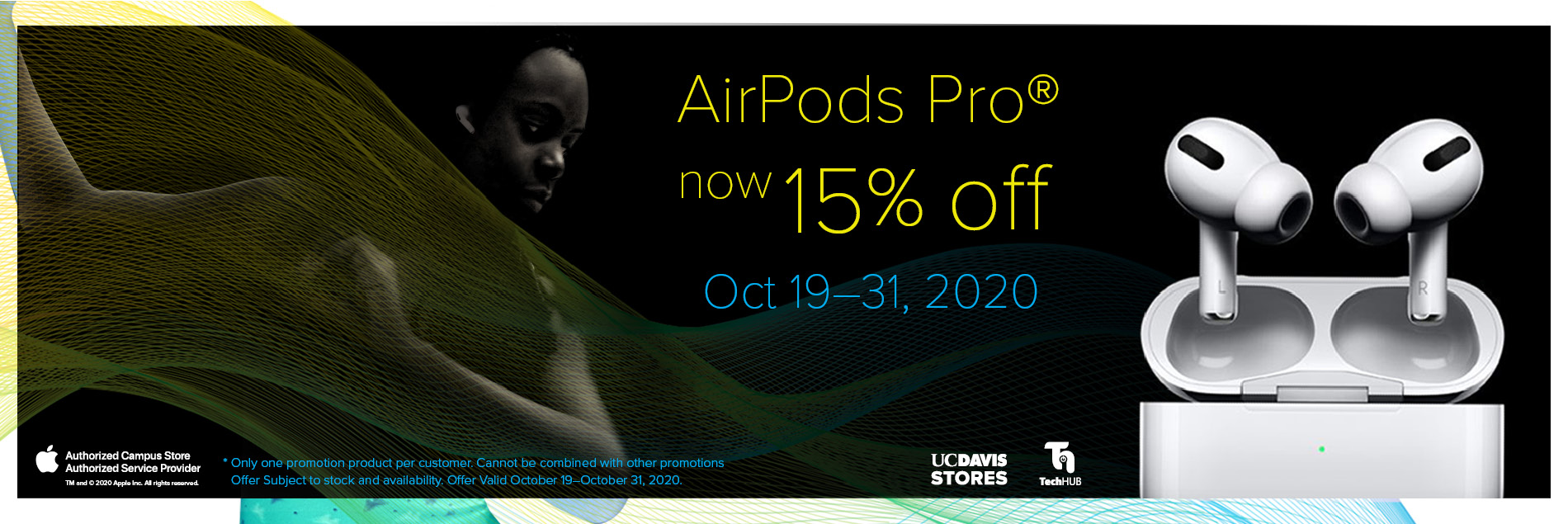 Airpods Promo Banner