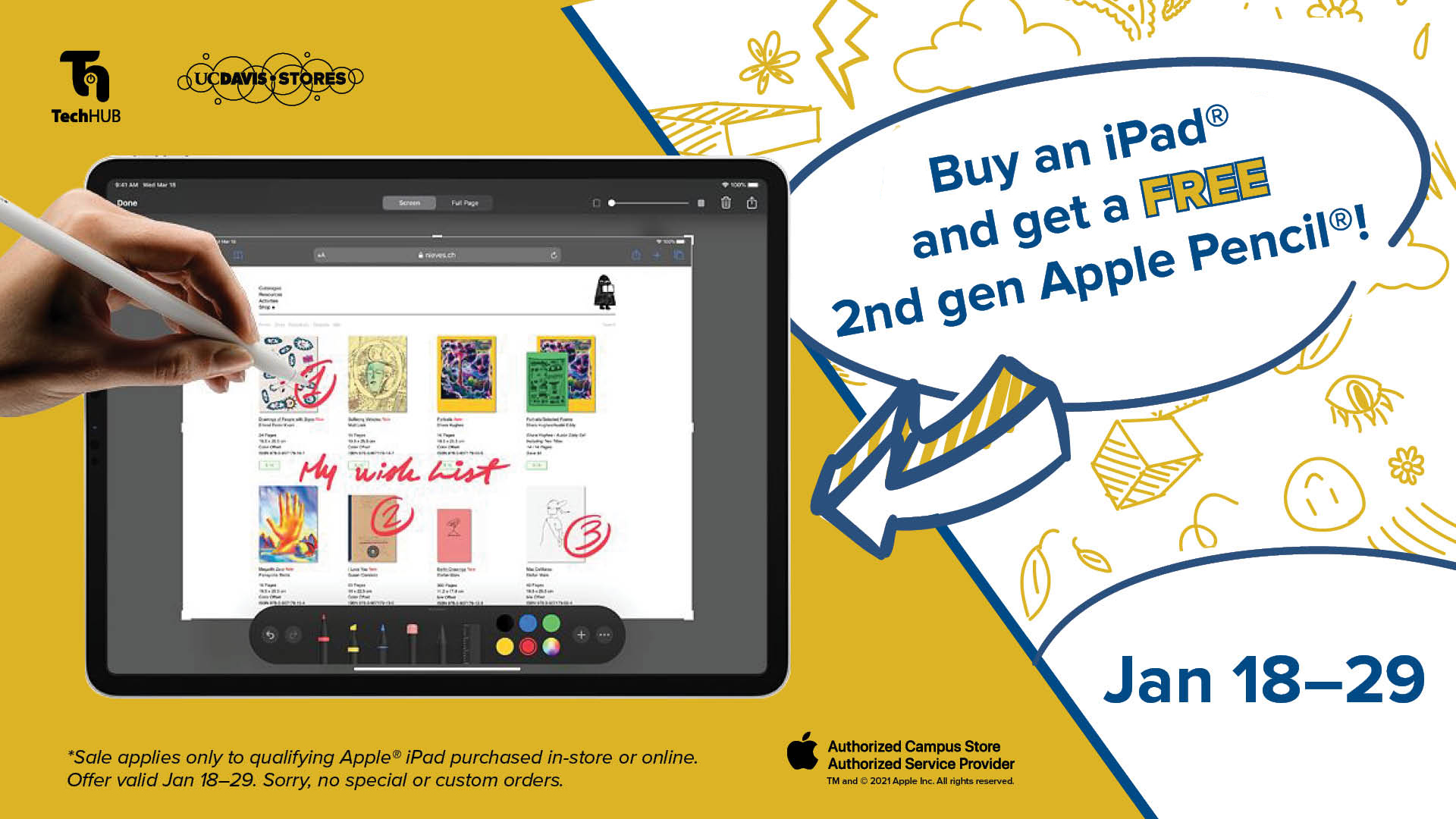 Apple iPad Pen Promo