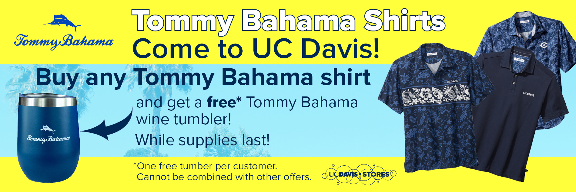 Tommy Bahama Shirt Sale Banner