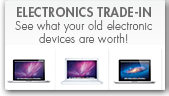 Trade in your old electronics for a UC Davis Stores Gift Card!