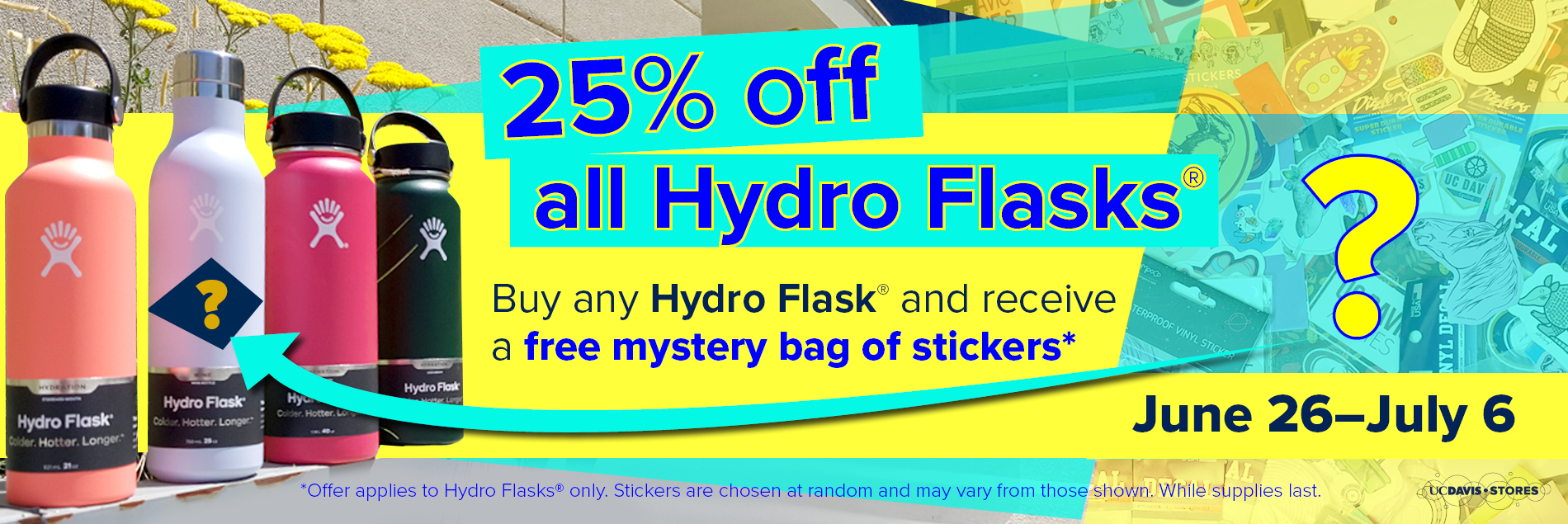 Hydro Flask Promotion