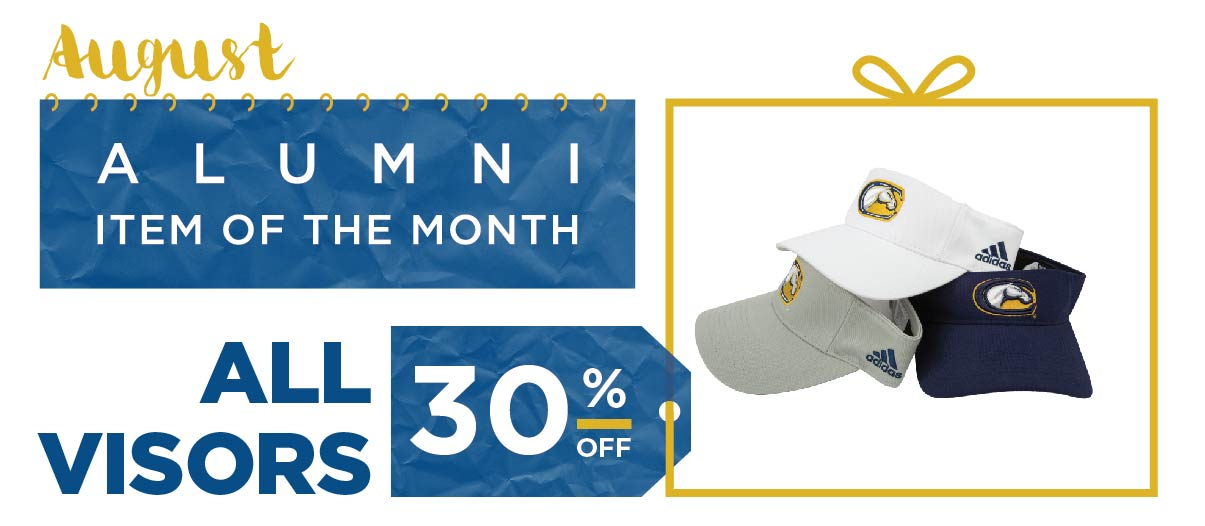 UC Davis Alumni Item of the Month for August 2015. 30% off UC Davis Visors