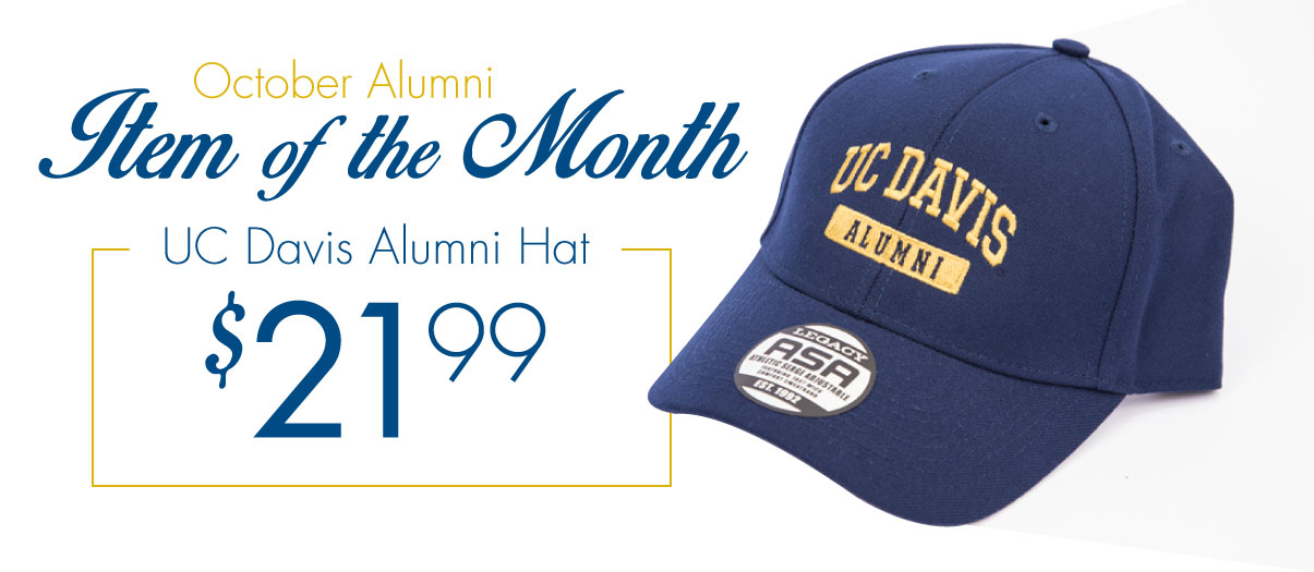 Get the Alumni Item of the Month for October 2014 right now!