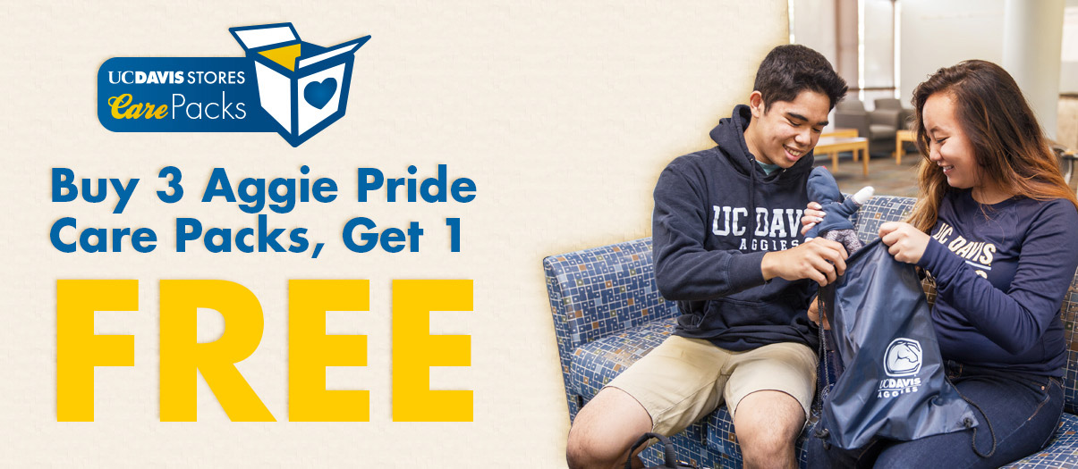 Make sure your student is set up for the major milestones at school this year with our Aggie Pride Care Packs.