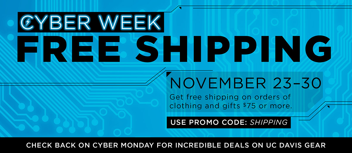 From 11/23-11/30, get free shipping on clothing and gift orders $75 or more. Use promo code shipping during checkout.