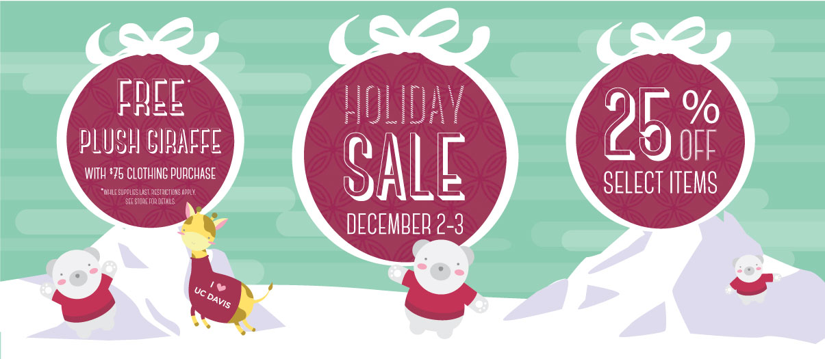 Join us for our annual holiday sale, in store only, 12/2-12-3.