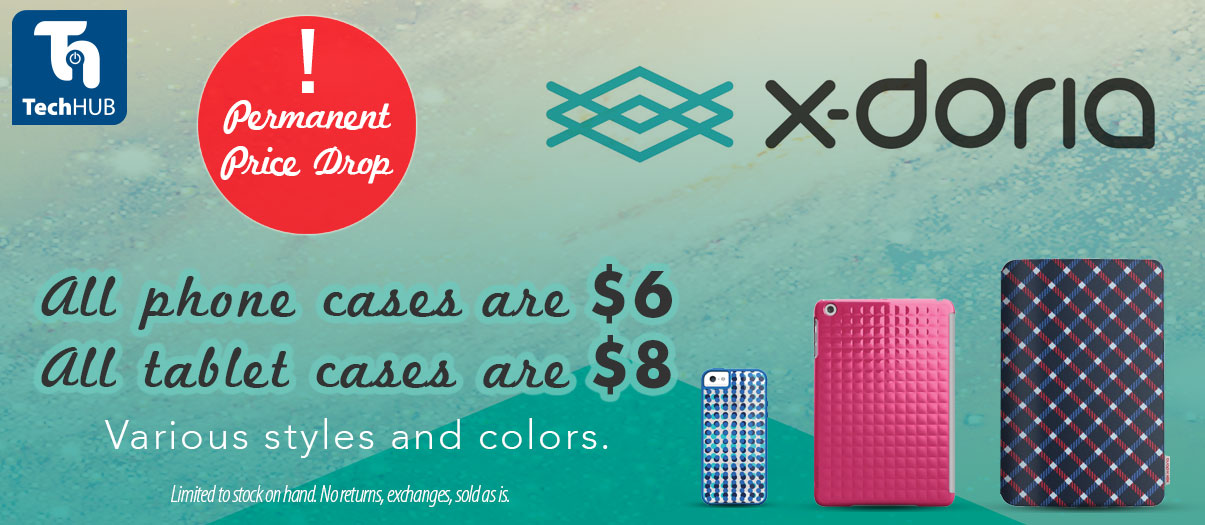 X-Doria iPhone and iPad cases now only $6 and $8.