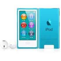 16G iPod Nano: Blue