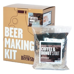 Brooklyn Brewshop Beer Making Kit: Coffee & Donut Stout