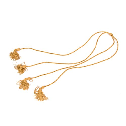UC Davis Highest Honors Level Antique Gold Cord