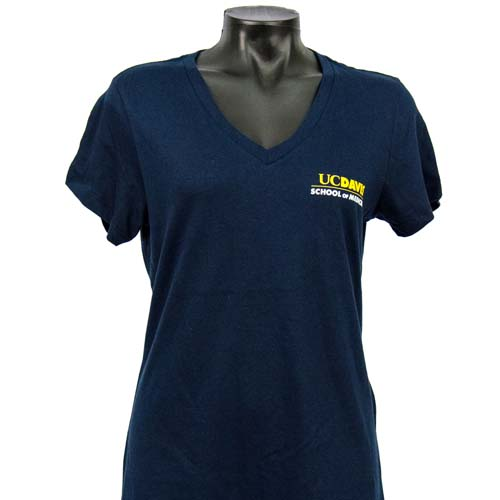 School of Medicine Women's V-Neck Navy