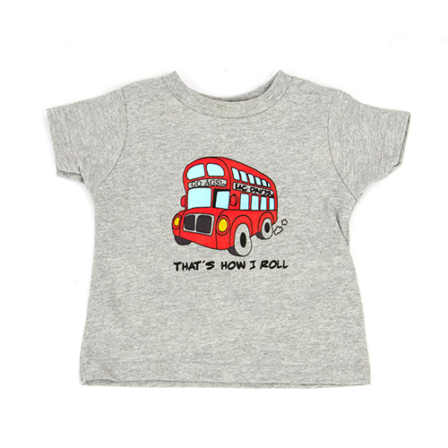 UC Davis T-shirt Toddler Unitrans Bus CI Sport