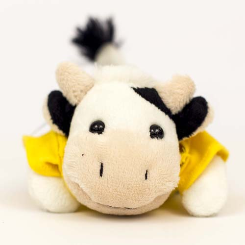 Plush Cow Chublet with Tee