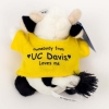 Plush Cow Chublet with Tee thumbnail