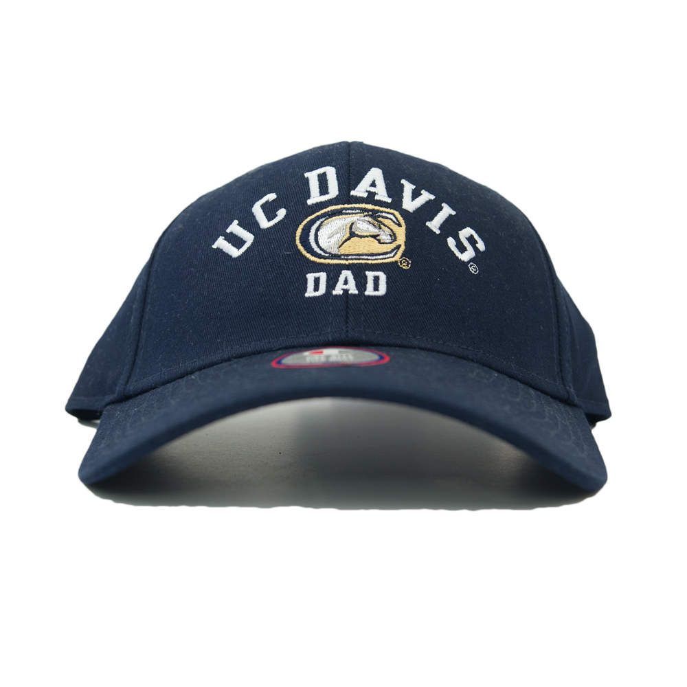 UC Davis Hat Dad Navy