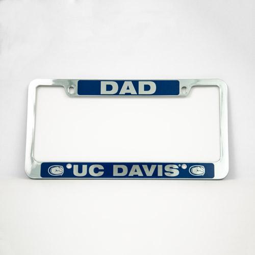 License Plate Frame Dad