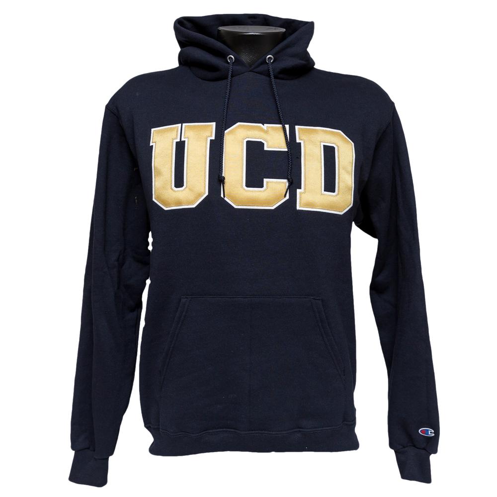 UC Davis Hood UCD Champion Navy