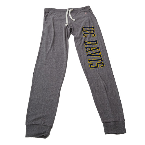 UC Davis Women's Sweatpants Gray Heather