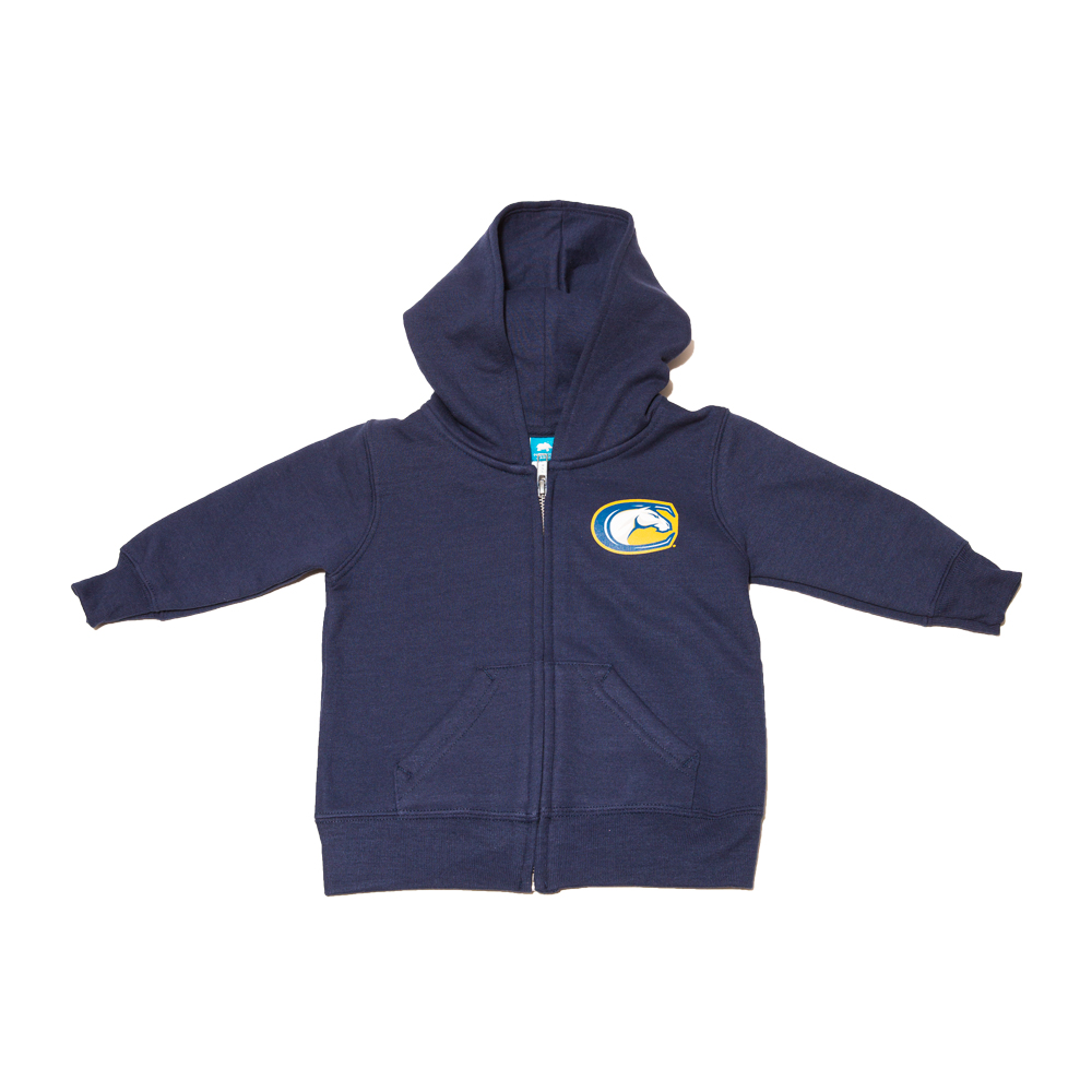 UC Davis Hood Zip Children's Infant AO C-Horse Navy