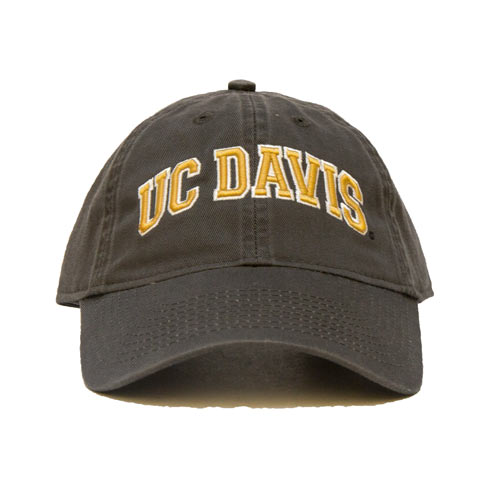 UC Davis Hat Gray
