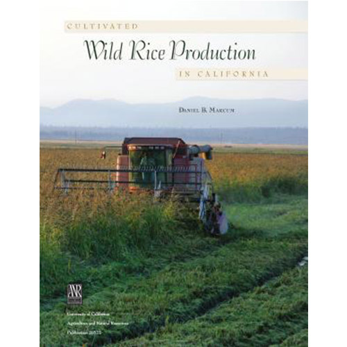 Cultivated Wild Rice Production in California