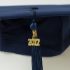 Mortarboard With Navy Tassel and Date thumbnail