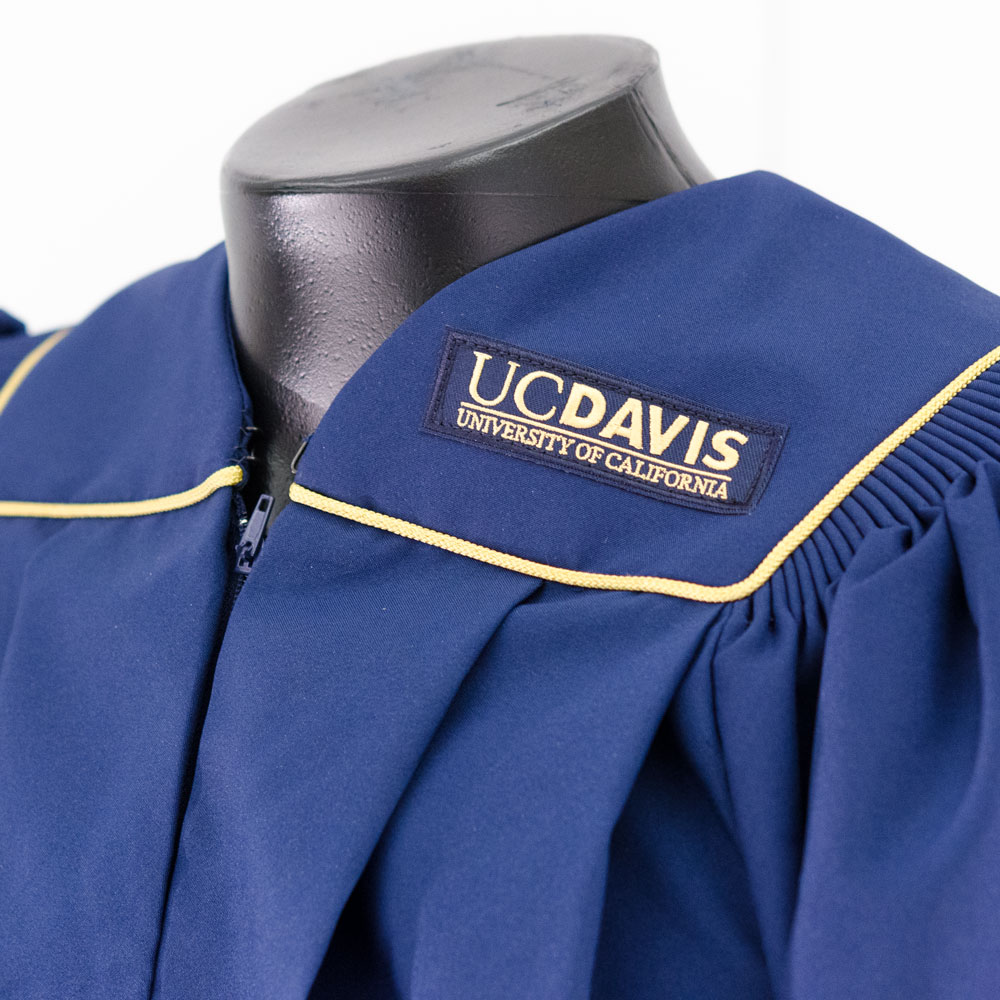 Gown Earth Grad Master Uc Davis Stores