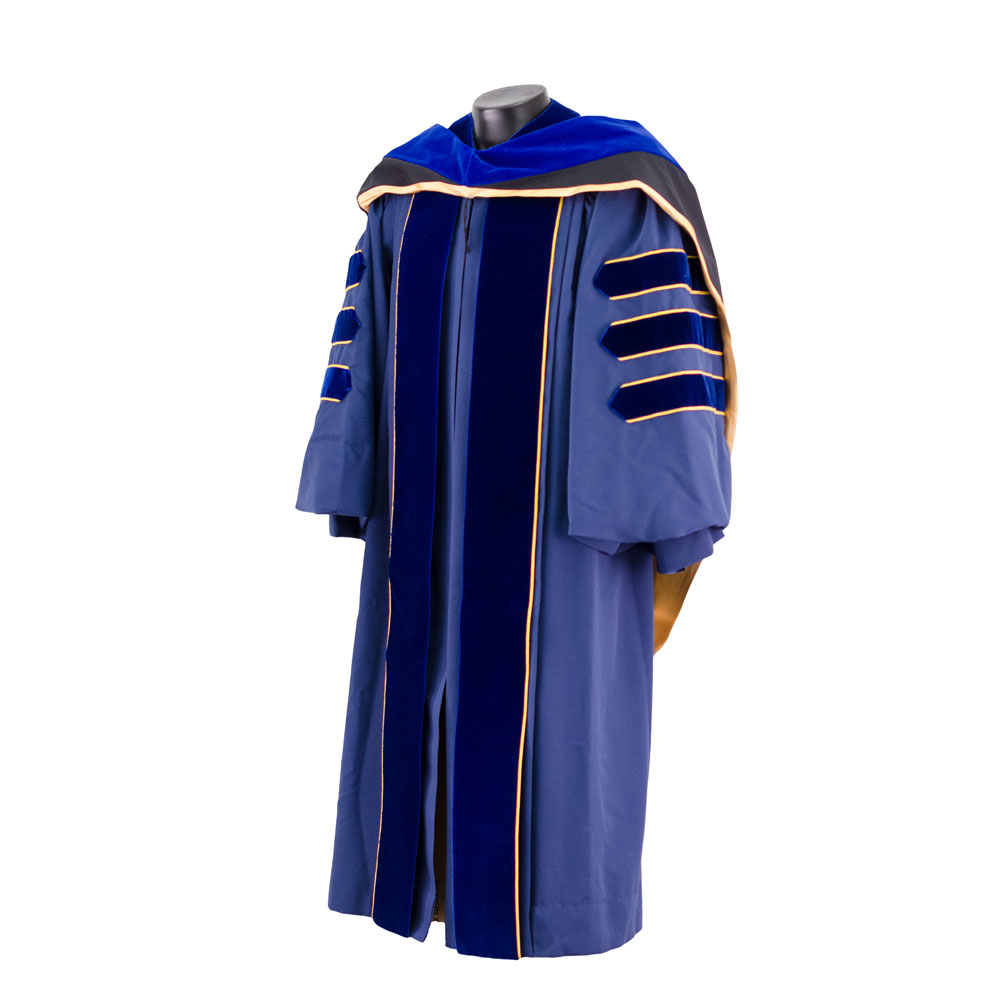 Official UC Doctoral Gown Complete Set