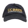 UC Davis Hat Navy Extended Logo thumbnail