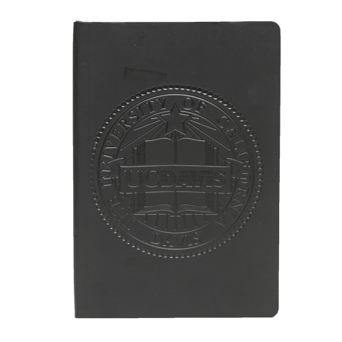 Journal - 5x8 Black UC Davis Seal
