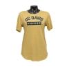 UC Davis Women's Tee Gold thumbnail