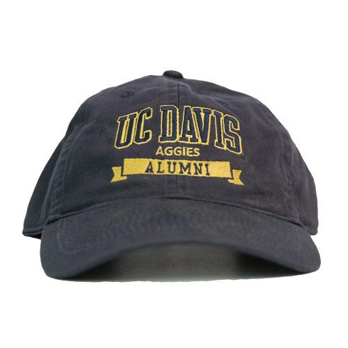 UC Davis Hat Alumni Banner Legacy Navy