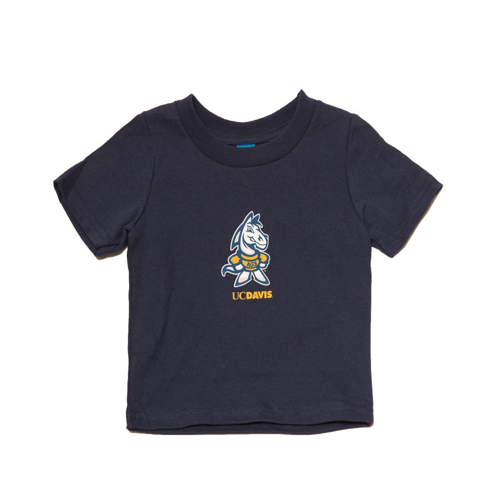 UC Davis T-shirt Children's Infant AO Gunrock Navy