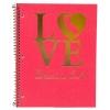 Notebook Spiral Bound 1 Subject LOVE Davis, CA thumbnail