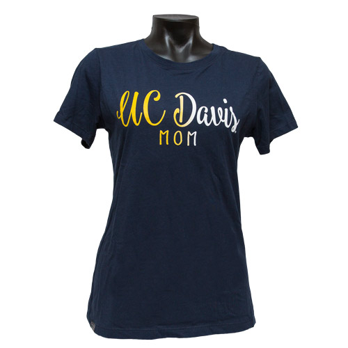 Jansport UC Davis Mom Tee Gradient