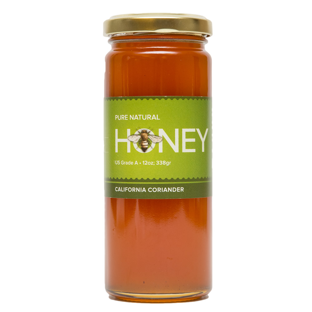 UC Davis Honey CA Coriander (12 oz)