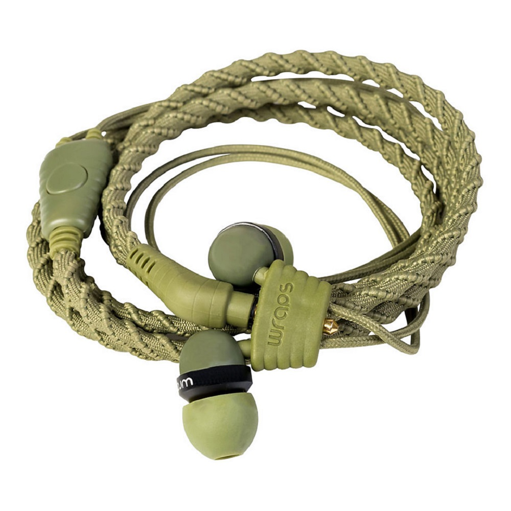 Wrap's Fabric In-Ear HP w/Mic - Camo