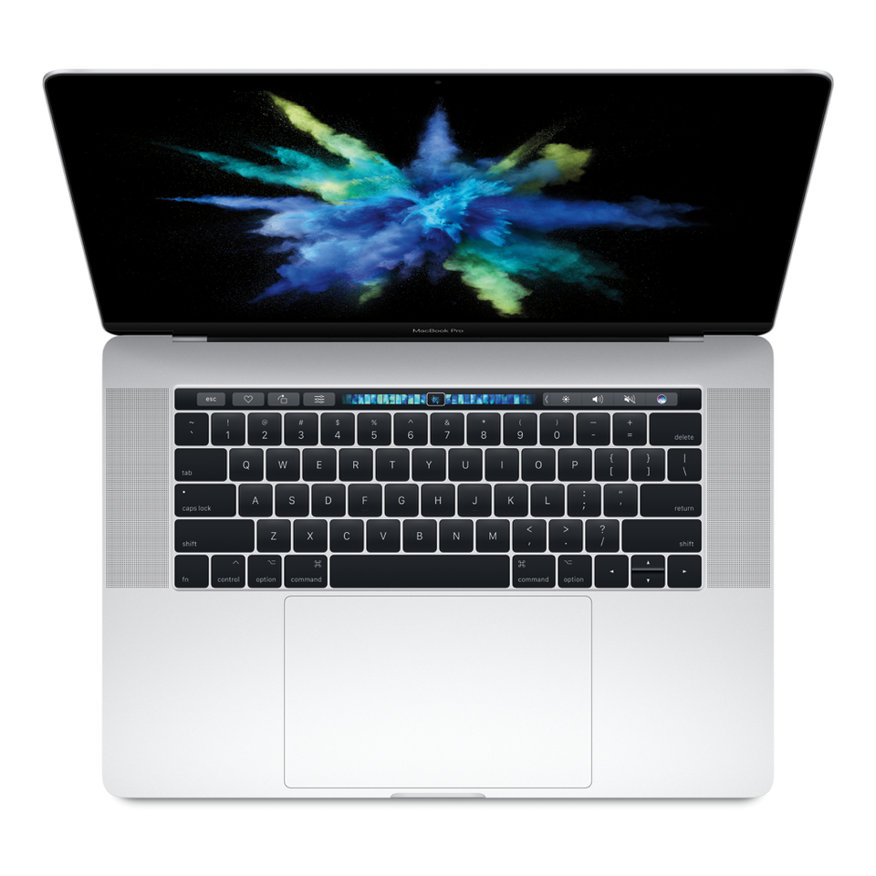 "15"" MacBook Pro with Touch Bar 512GB Silver"