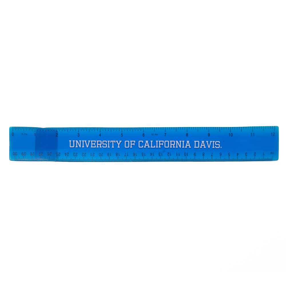 UC Davis Flexi-Ruler Blue