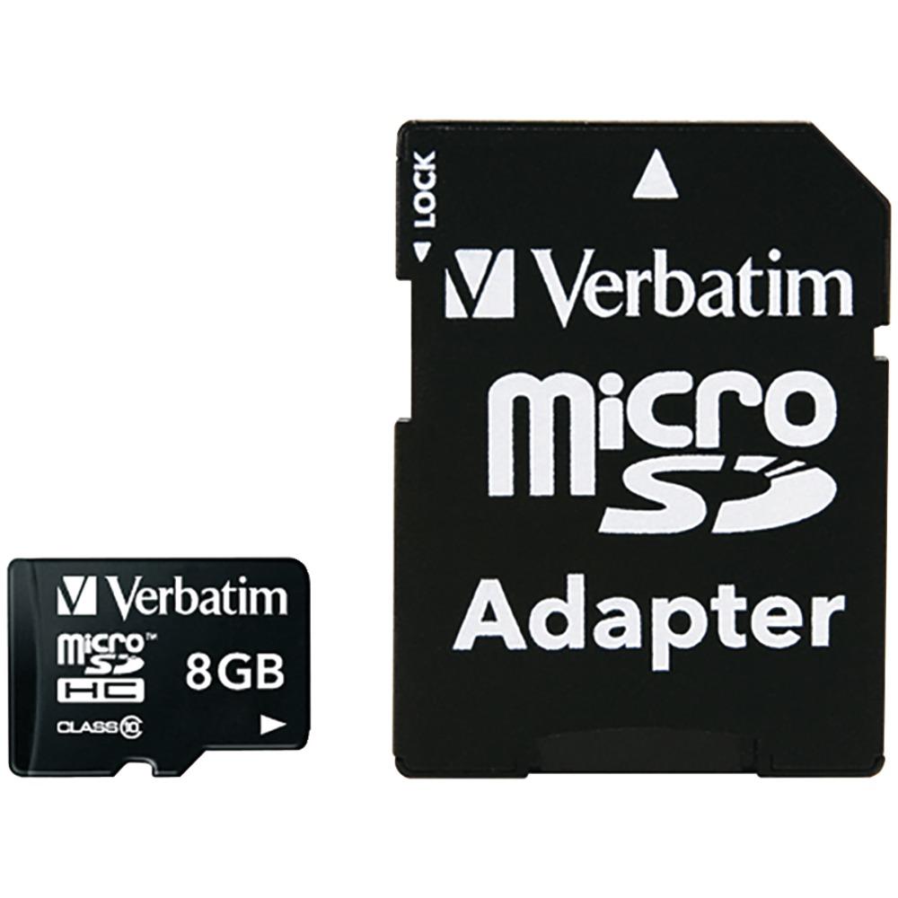 Verbatim 8gb microSDHC Card